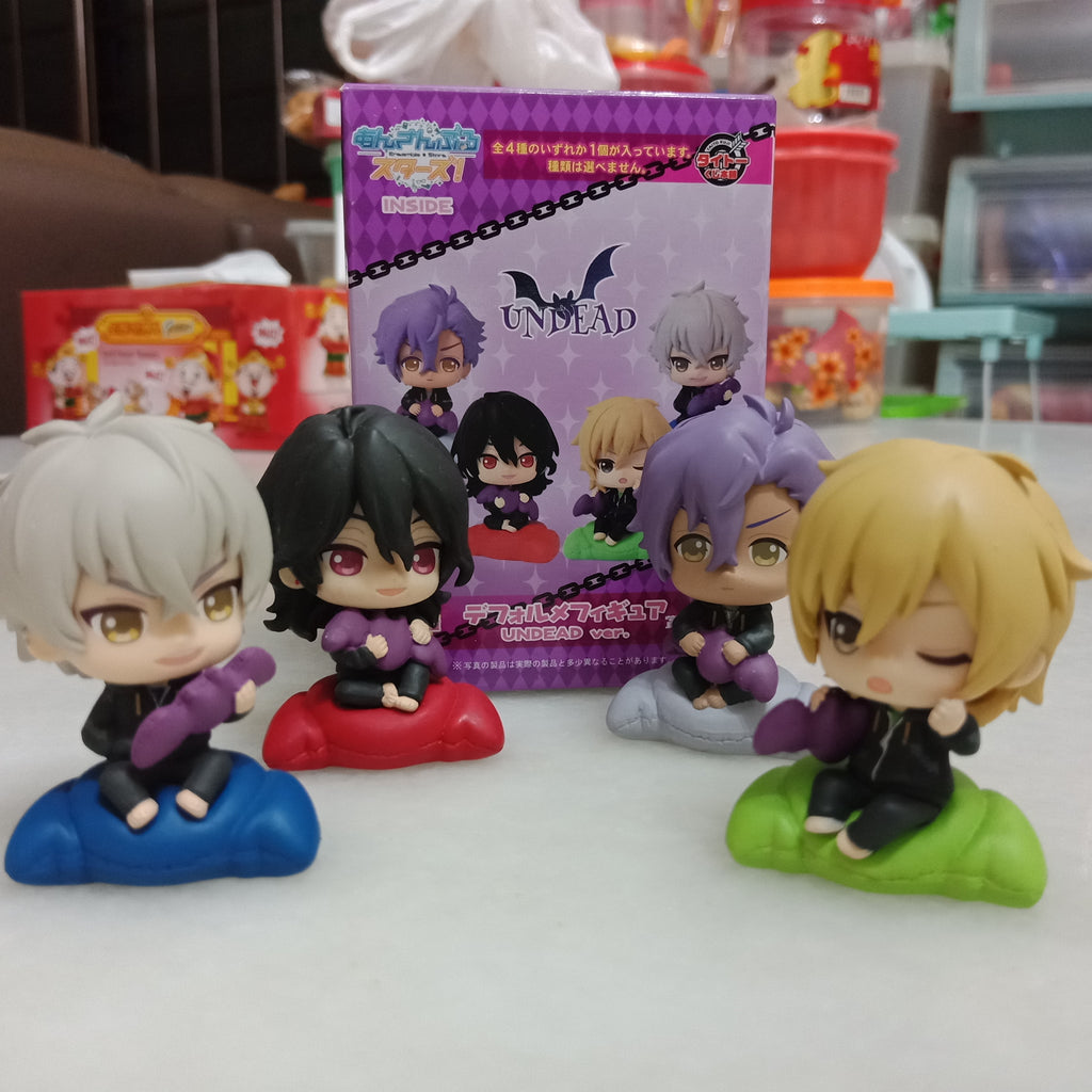 Ensemble Stars: UNDEAD Kuji Mini Figures