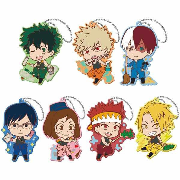 Hero Academia: Cleaning Rubber Straps