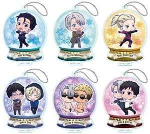 Yuri On Ice: TojiKore Acrylic Stands