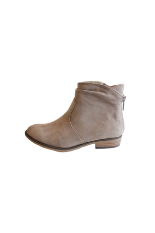 Becky Bootie Taupe, Booties, Cityclassified - Carte Blanche Boutique