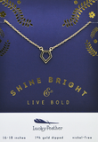 Live Bold Necklace, Necklace, Carte Blanche Boutique - Carte Blanche Boutique