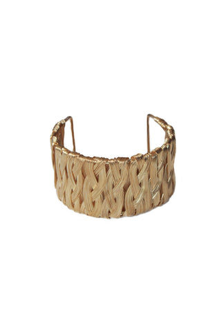 Woven Cuff, Bracelet, Carte Blanche Boutique - Carte Blanche Boutique