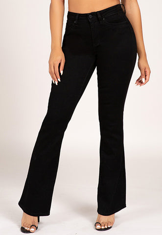 Cher High Rise Flare Jeans, Jeans, Carte Blanche Boutique - Carte Blanche Boutique