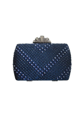 Midnight Ruler Clutch, Clutch, Carte Blanche Boutique - Carte Blanche Boutique