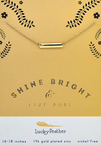 Live Pure Necklace, Necklace, Carte Blanche Boutique - Carte Blanche Boutique