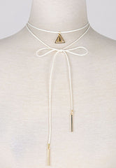 Sam Choker Necklace, Necklace, Carte Blanche Boutique - Carte Blanche Boutique