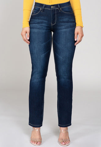 Simone Straight Leg Jeans, Jeans, Carte Blanche Boutique - Carte Blanche Boutique