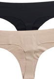 Seamless Thong, Intimates, Carte Blanche Boutique - Carte Blanche Boutique