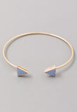 Vera Bangle Bracelet, Bracelet, Carte Blanche Boutique - Carte Blanche Boutique