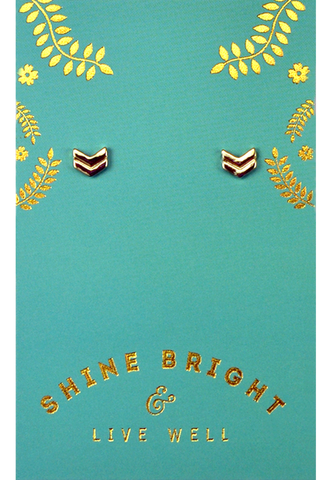 Live Well Earrings, Earrings, Carte Blanche Boutique - Carte Blanche Boutique
