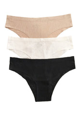 Floral Panty 3 Pack, Intimates, Carte Blanche Boutique - Carte Blanche Boutique