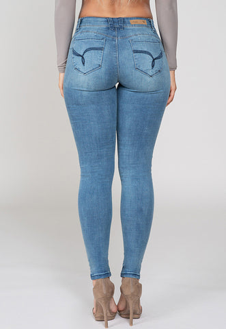 Odette Mid Rise Skinnies, Jeans, YMI - Carte Blanche Boutique