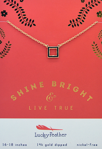 Live True Necklace, Necklace, Carte Blanche Boutique - Carte Blanche Boutique