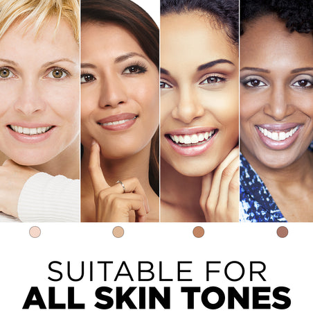 Suitable for Every Skin Tone