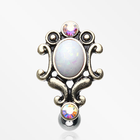 vintage-victorian-opal-hinged-reverse-belly-button-ring-white