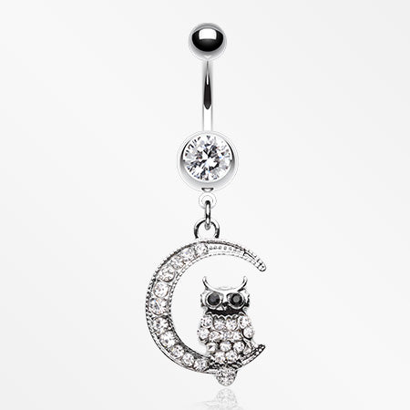 sparkling-midnight-owl-on-moon-belly-button-ring-clear
