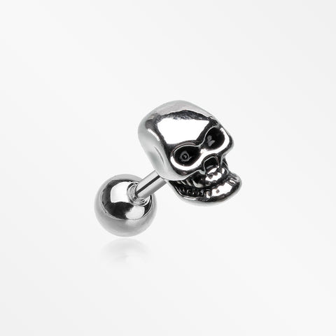 Apocalyptic Skull Cartilage Tragus Barbell