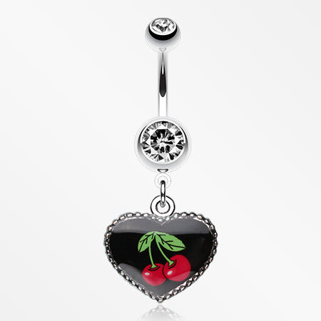 cherry-heart-dangle-belly-ring-clear