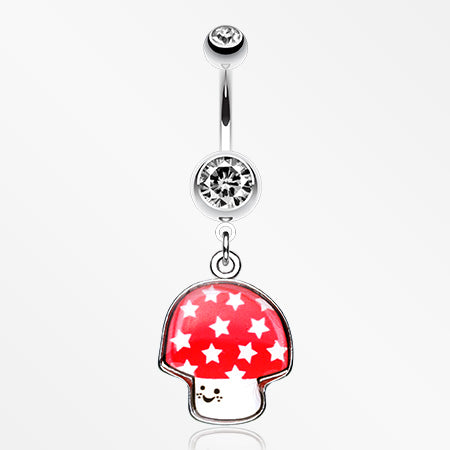 adorable-mushroom-belly-ring-clear