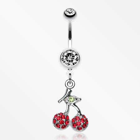 shimmering-cherry-dangle-belly-ring-clear