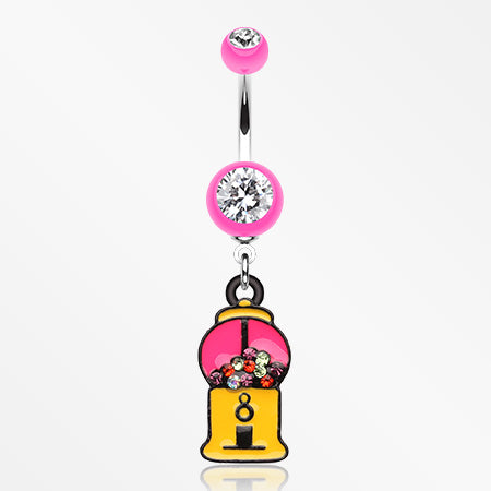 gumball-candy-machine-belly-button-ring-pink