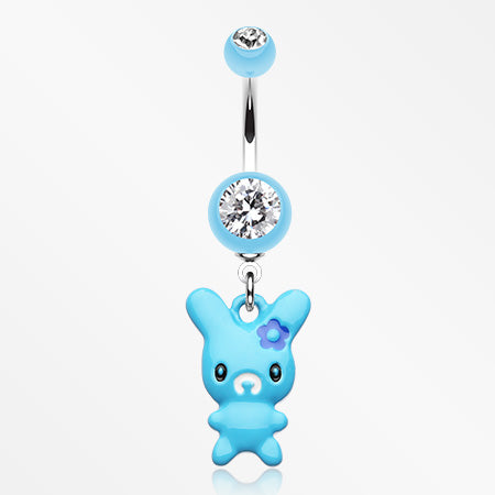 marshmallow-bunny-belly-button-ring-light-blue