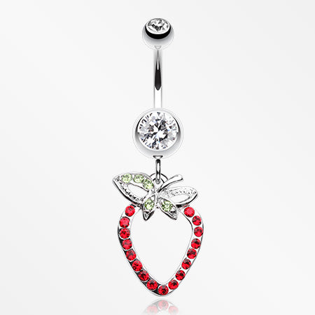 dazzle-berry-belly-button-ring-clear