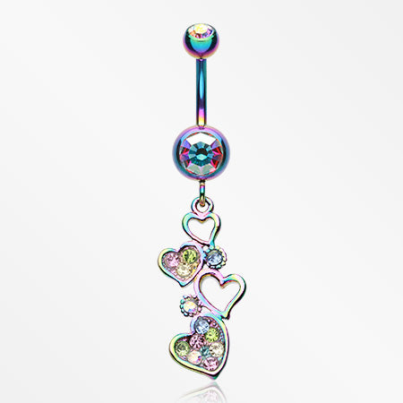 rainbow-sparkling-heart-cluster-belly-button-ring-rainbow-aurora-borealis