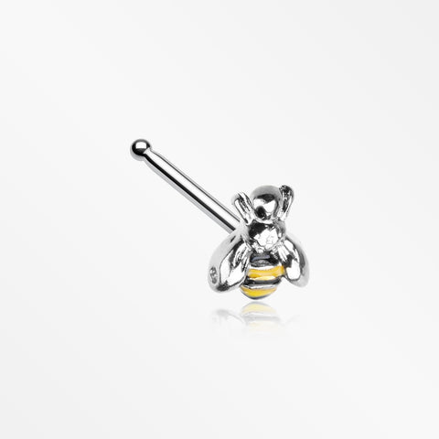 Sweet Bumble Bee Nose Stud Ring