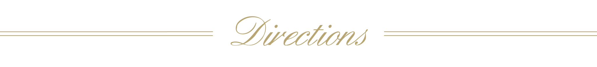 Directions Banner