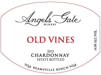 2013 Old Vines Chardonnay VQA