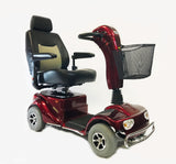 Merits S141 Pioneer 4 Narrow Medium-sized 4-Wheeled All-terrain Mobility Scooter