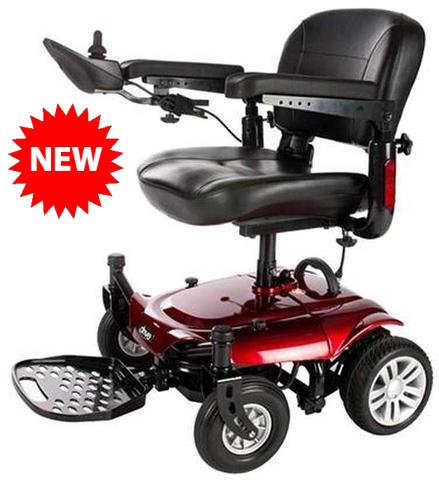 Drive Medical Cobalt X23 Standard Power Wheelchair Rear-Wheel Drive