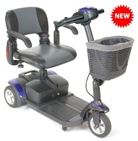Drive Medical Spitfire EX 1320 Compact Travel Mobility Scooter