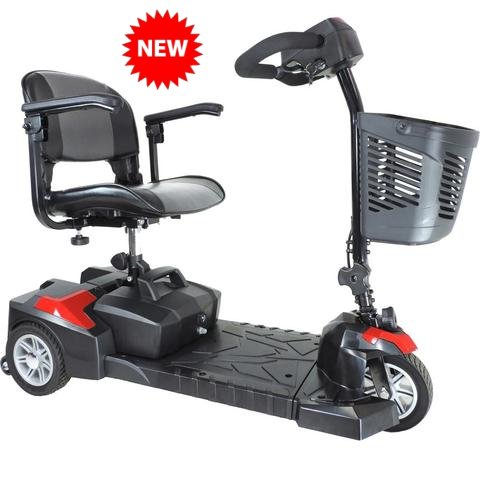 Drive Medical Spitfire Scout 3 - DLX Compact Travel Mobility Scooter