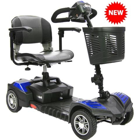 Drive Medical Spitfire Scout 4 - DLX Travel Mobility Scooter