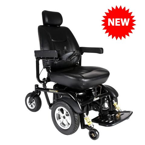 Drive Medical Trident HD Heavy-Duty Power Wheelchair