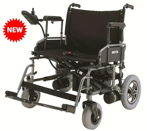 Merits P183 Folding Power Wheelchair