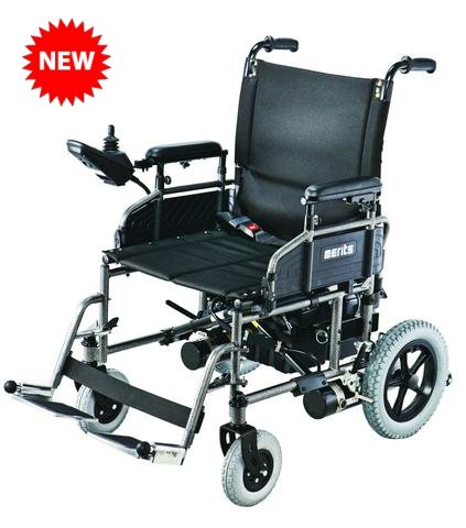 Merits P171 Folding Power Wheelchair