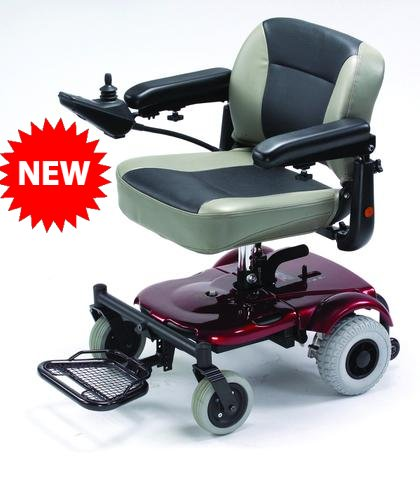 Merits P321 Super Light Mini Portable Power Wheelchair