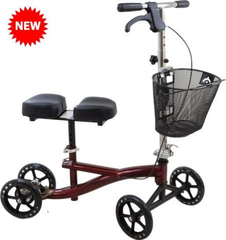 Roscoe Knee Scooter, Burgundy ROS-KSBG