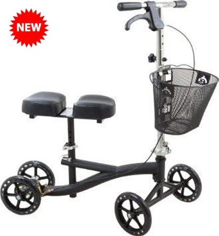 Roscoe Knee Scooter, Black ROS-KSB