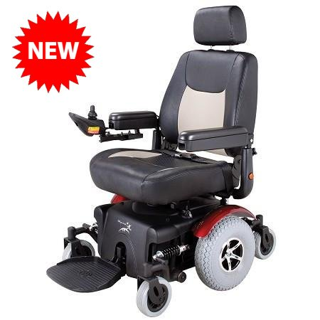 Merits P327 Mid-Wheel Drive Power Wheelchair