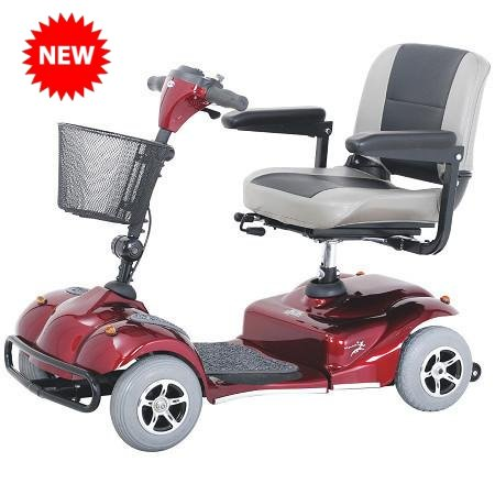 Merits S245 Pioneer 2 Mini 4-Wheeled Mobility Scooter