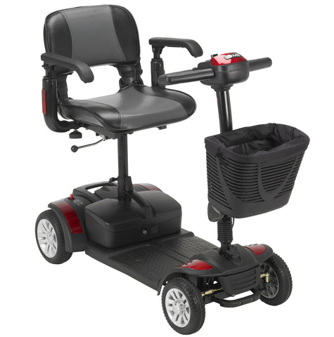 Drive Medical Spitfire EX 1420 Compact Travel Mobility Scooter - medicalsupplydepotandrepairs
