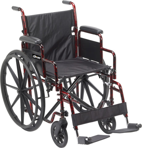 Drive Medical Rebel Wheelchair Lightweight Wheelchair