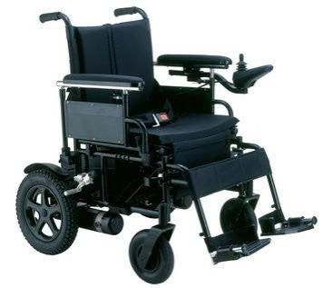 Drive Medical Cirrus Plus HD Heavy-Duty Folding Power Wheelchair Rear-Wheel Drive
