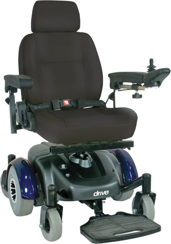 Drive Medical Image EC Standard Power Wheelchair Mid-Wheel Drive