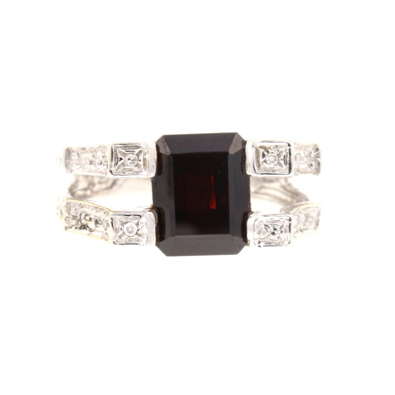Contemporary Diamond Ring - David's Antiques & Jewelry