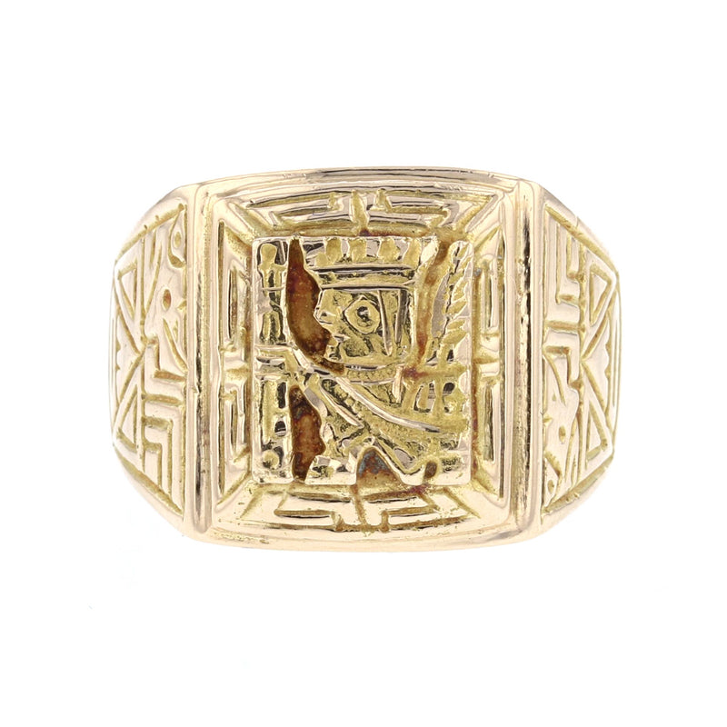 Inca Gold Ring